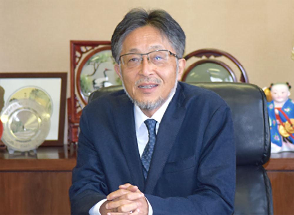岩崎 四日市大学学長